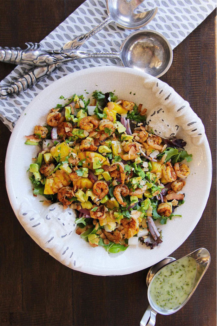 caribbean shrimp salad 3