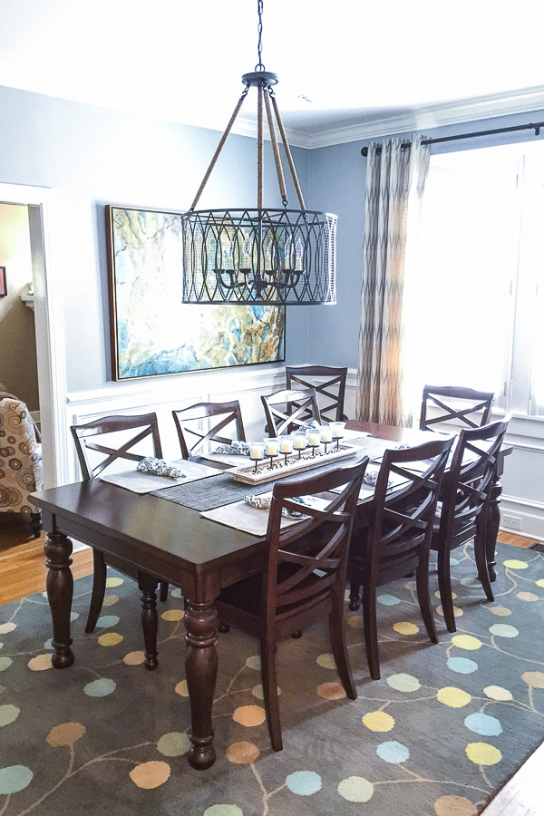 modern craftsman dining room 9