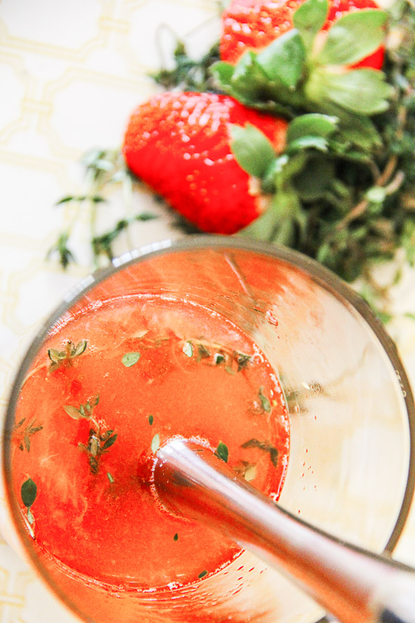 strawberry vodka cocktail 13