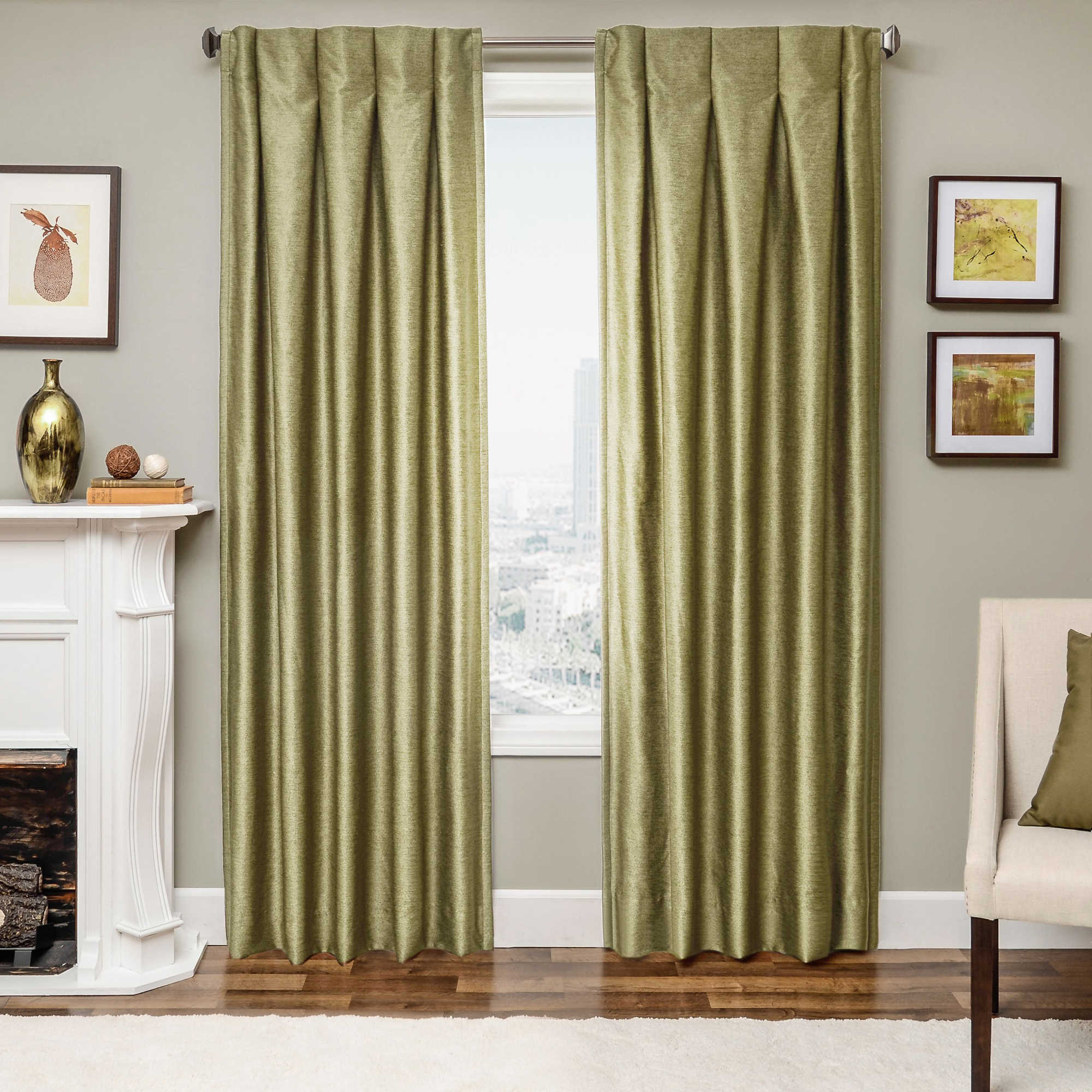 Chartreuse Curtains