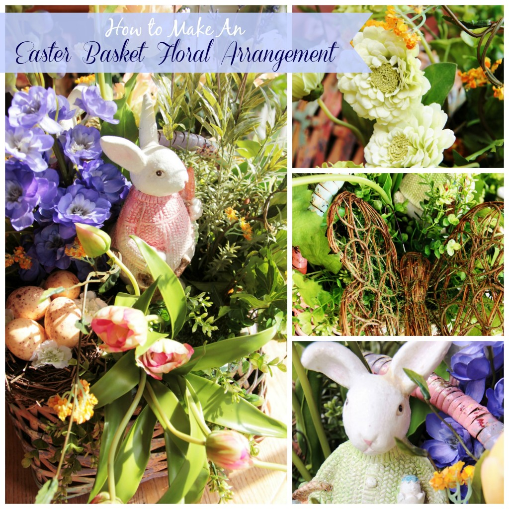 Easter Basket Floral Arrangement 1