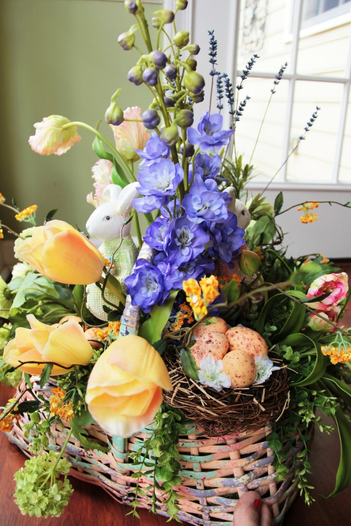 Easter Basket Floral Arrangement 14