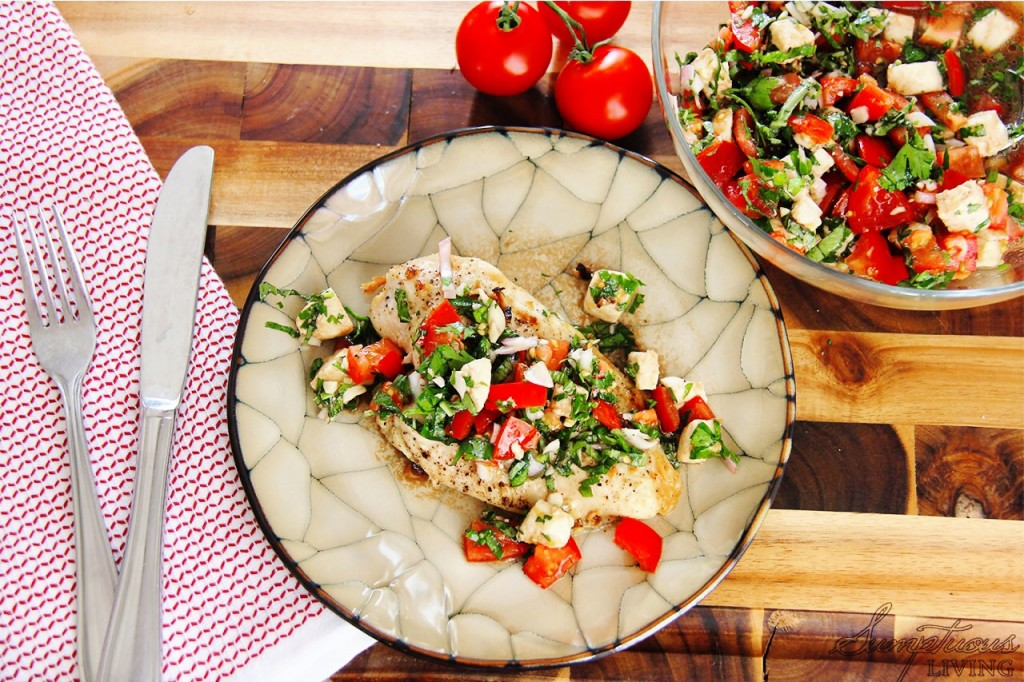 recipe easy meals bruschetta chicken