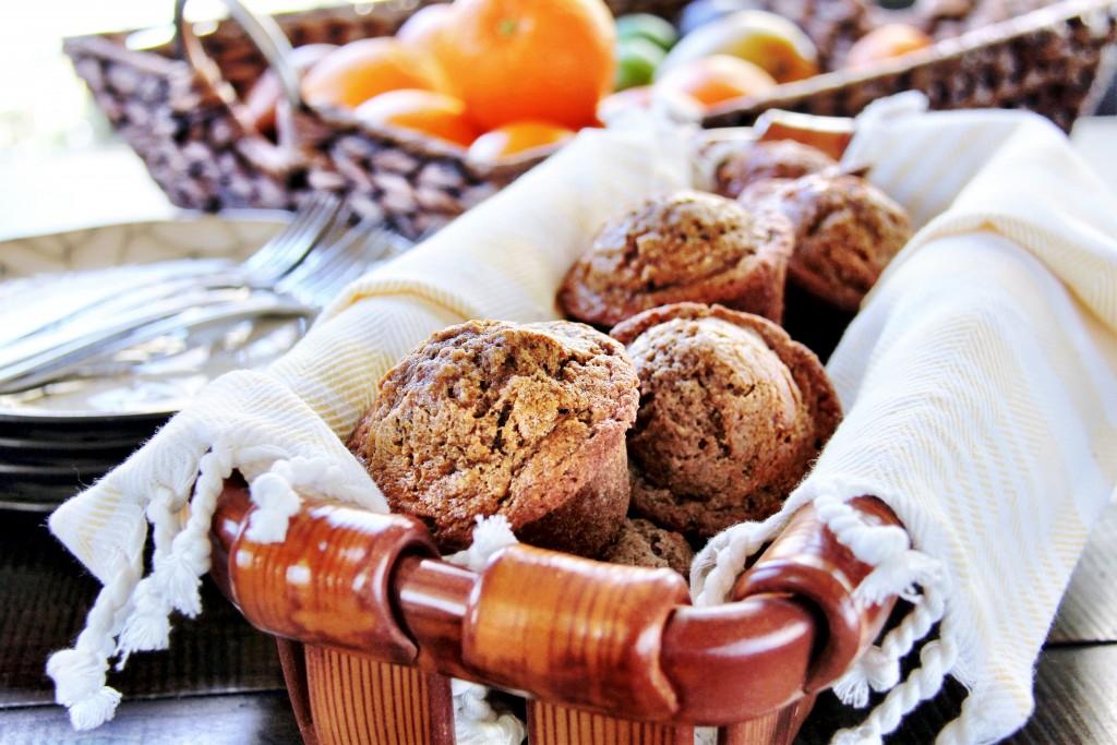 Banana Chia Muffins