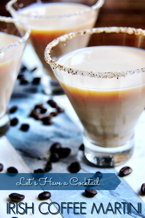 Irish Coffee Martini 1