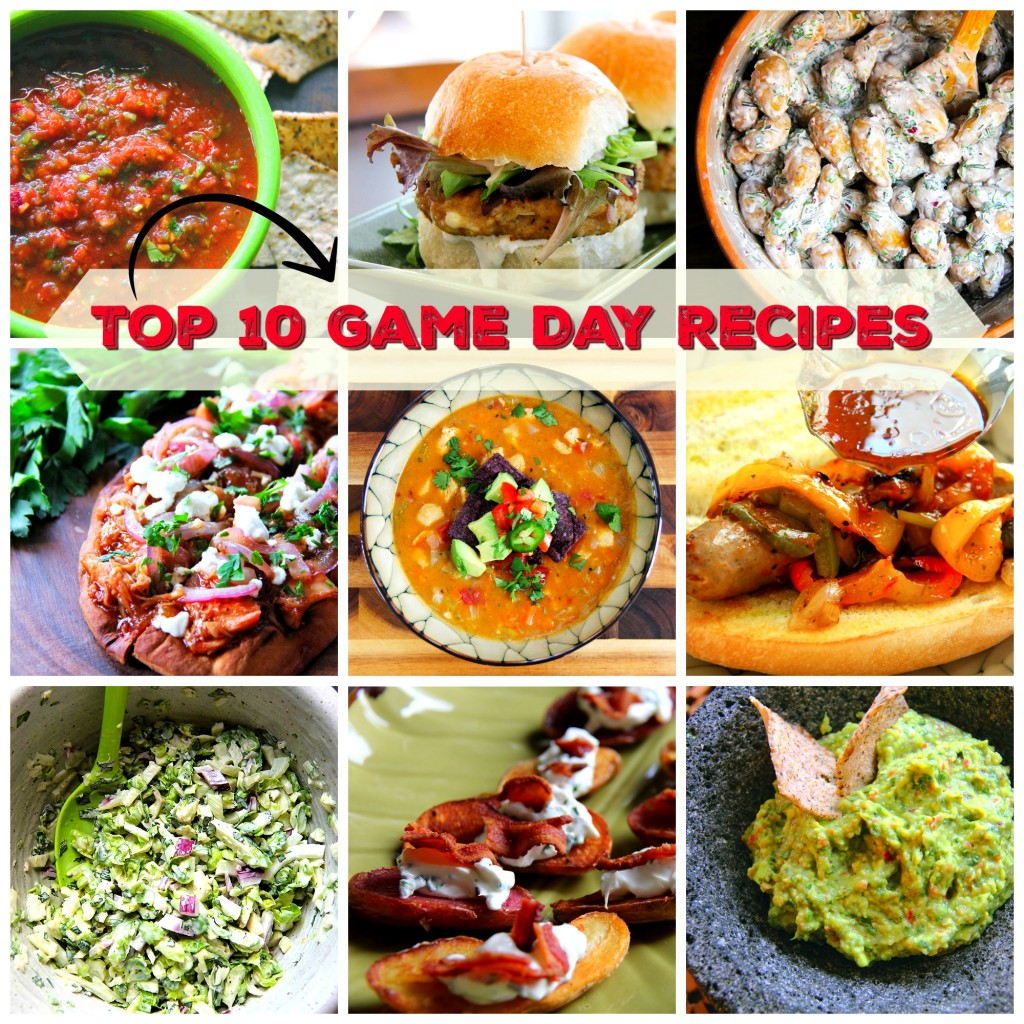 Top 10 Game Day Recipes