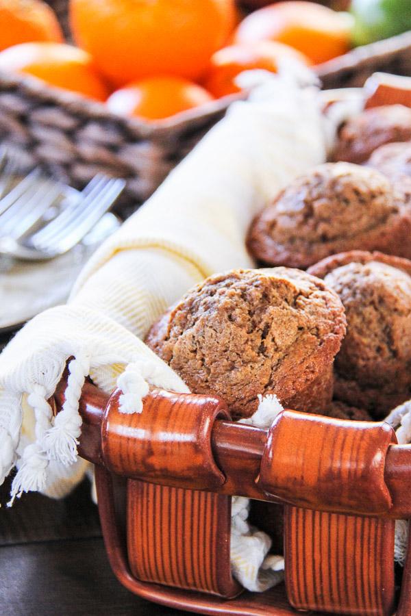 banana chia muffins 8
