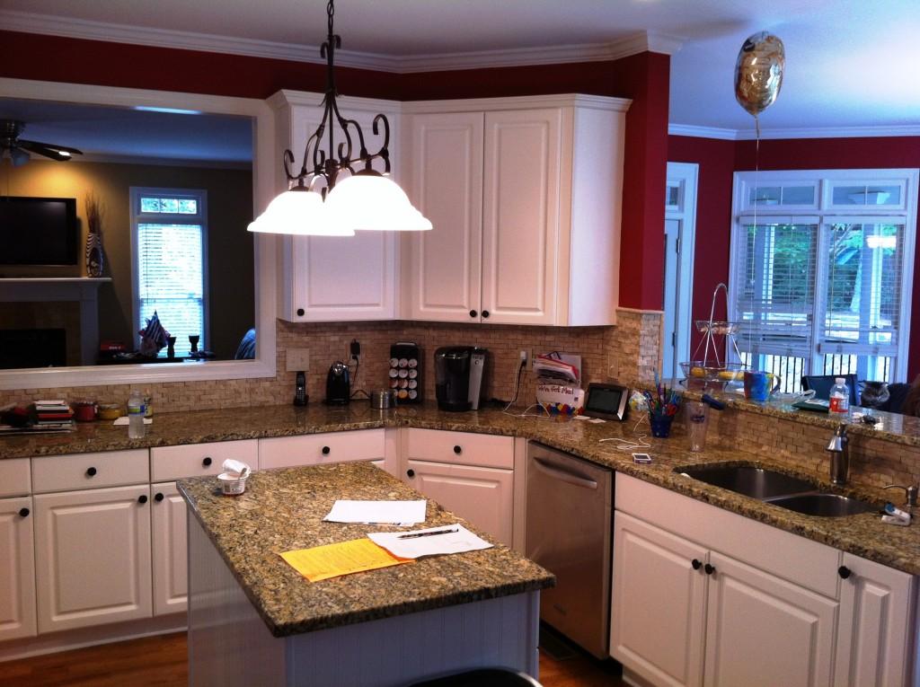 glitzy kitchen design