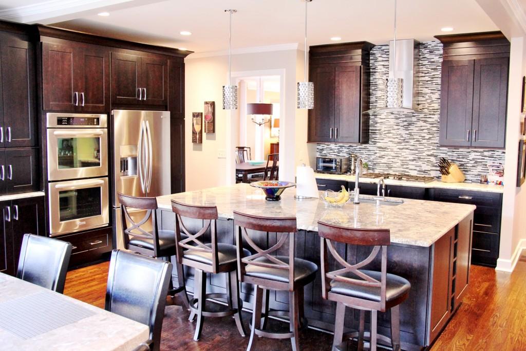 glitzy kitchen design 2