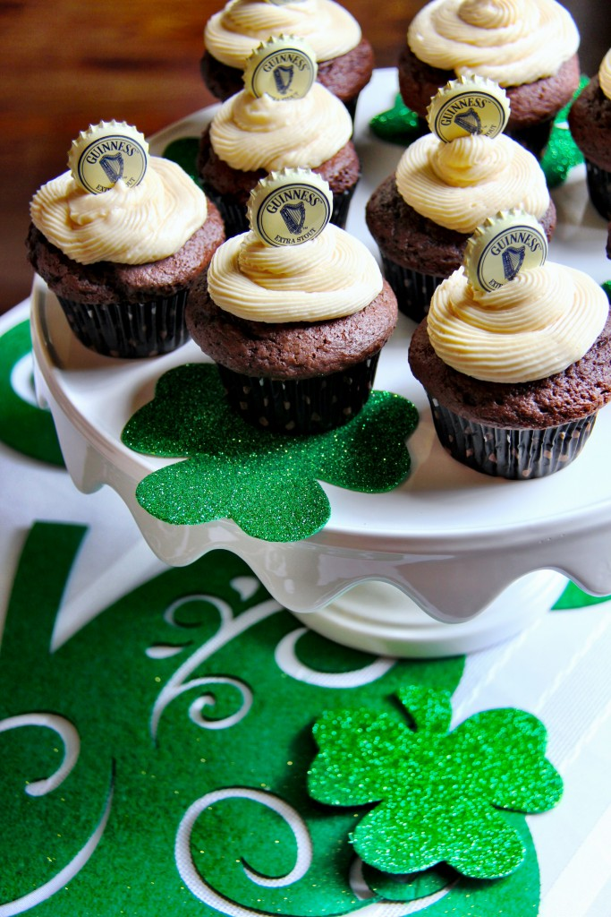 Chocolate Stout Cupcakes 2