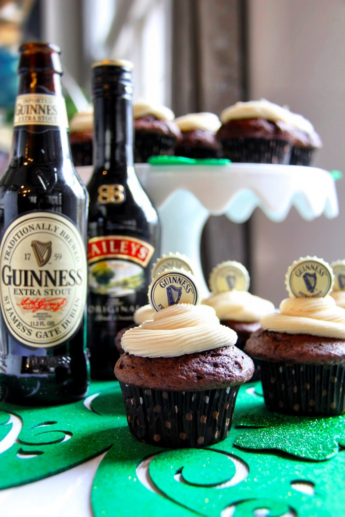 st patrick's day recipes favorite cupcakes