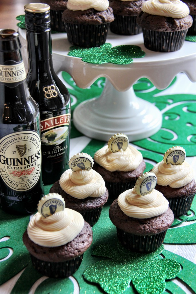 Chocolate Stout Cupcakes 3