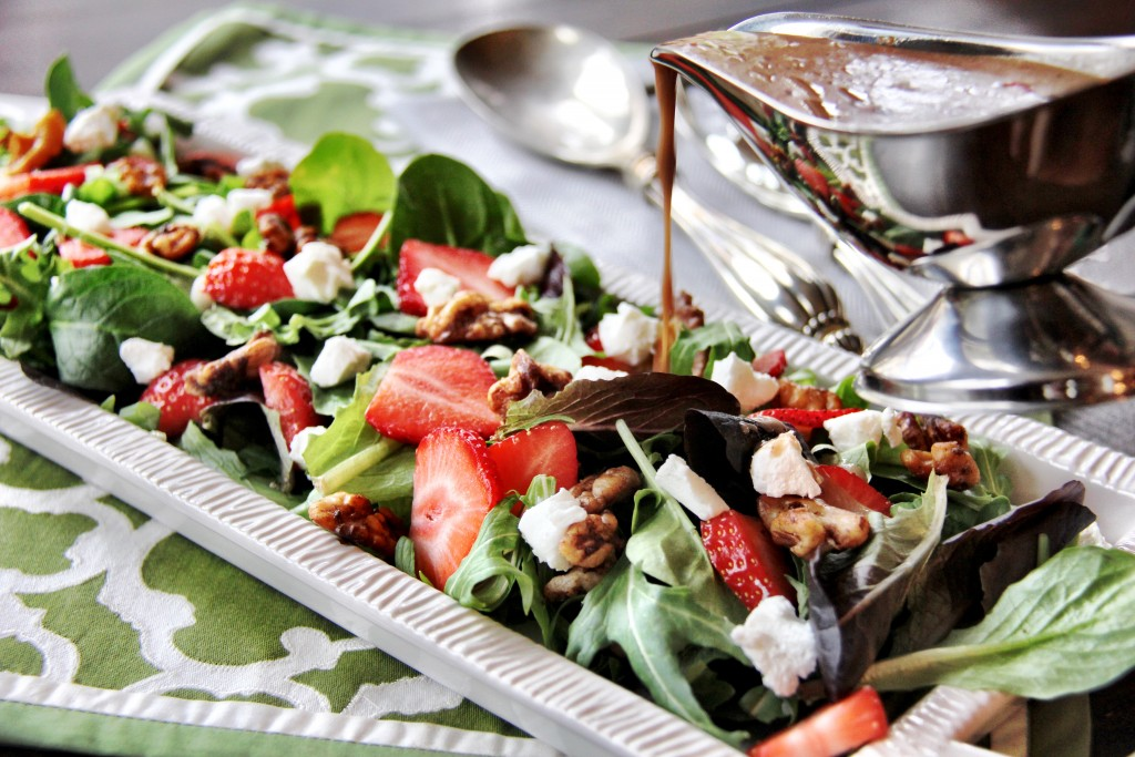 strawberry walnut salad 2
