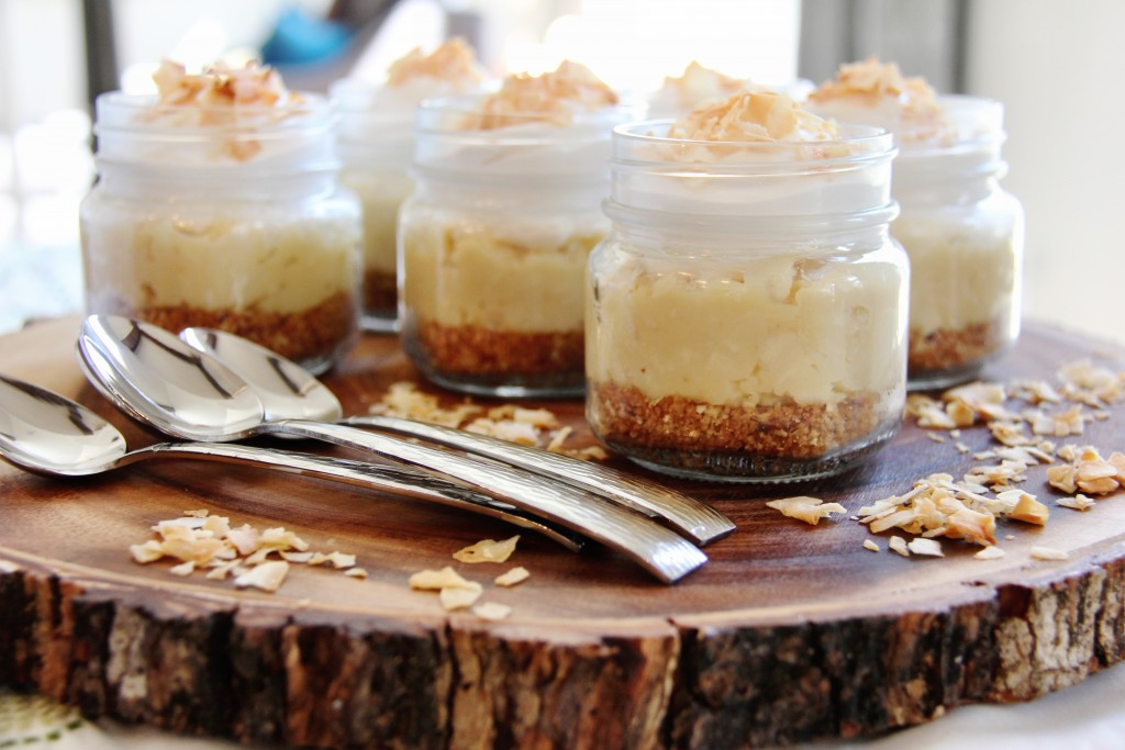 Easter dessert Coconut Cream Pie Jars