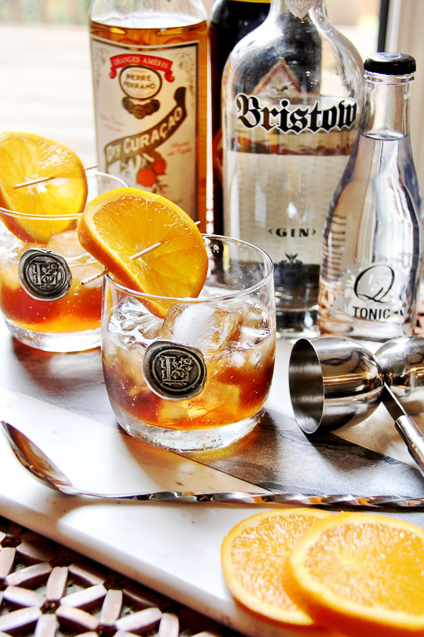 gin orange cocktail