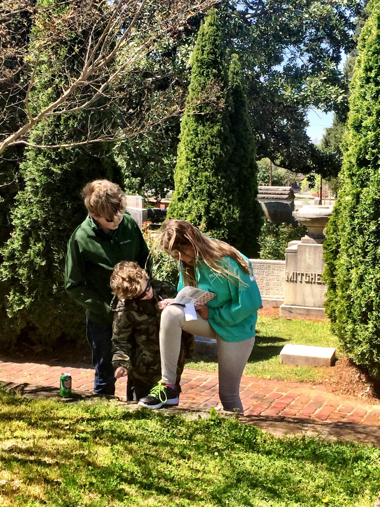 Atlanta Scavenger hunt clue solving
