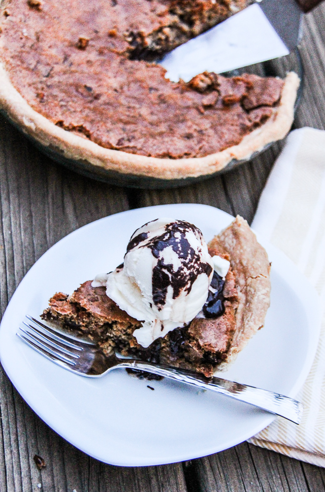 chocolate chunk pecan pie 3