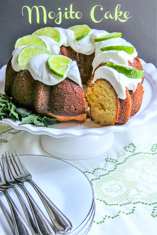 Mojito cake recipe 8