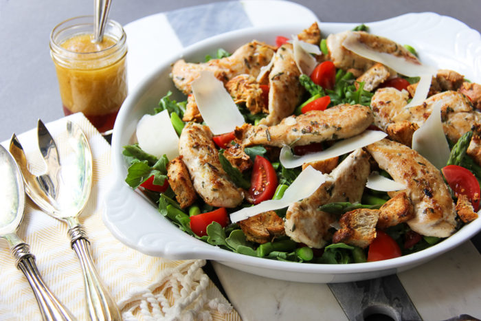 chicken arugula salad 3