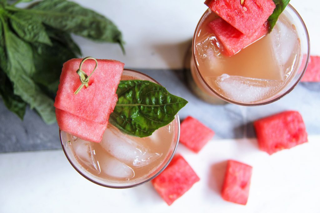 watermelon prosecco cocktail recipe