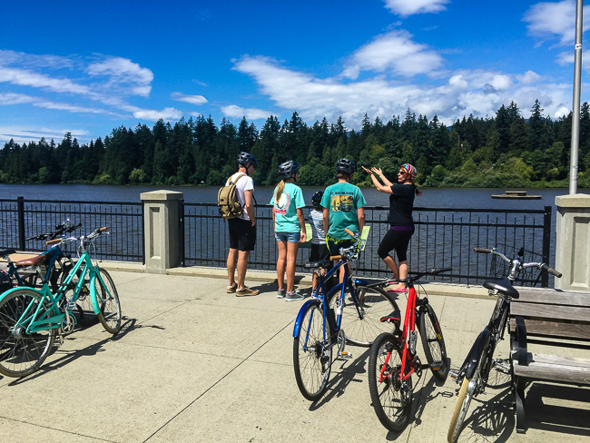 guided bike tour of vancouver
