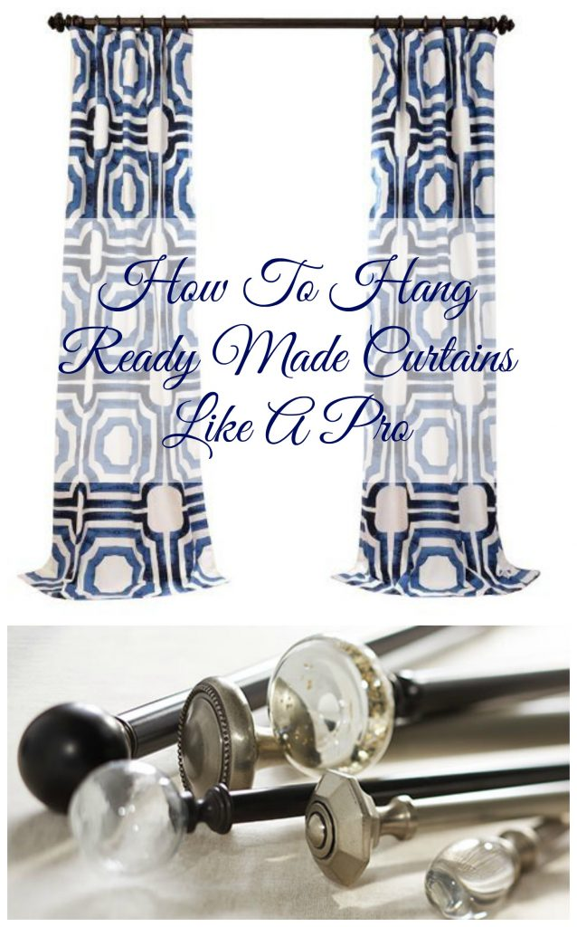 design tip for how to hang curtains