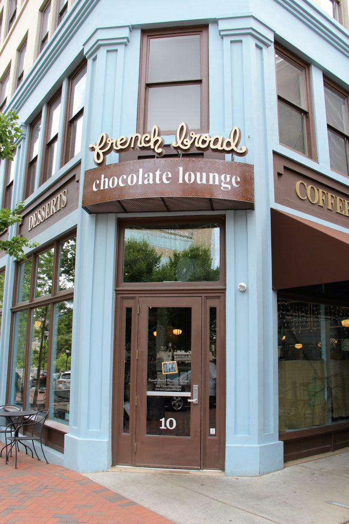 french broad chocolate lounge entrance