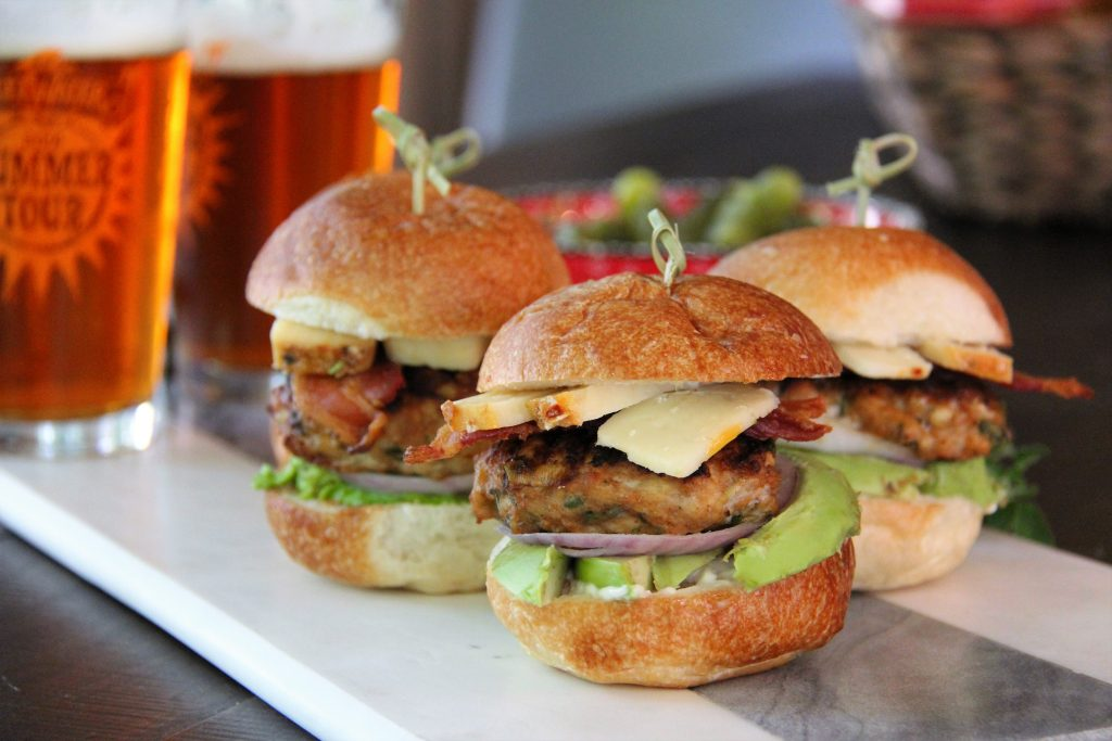 chipotle chicken slider with sartori cheese