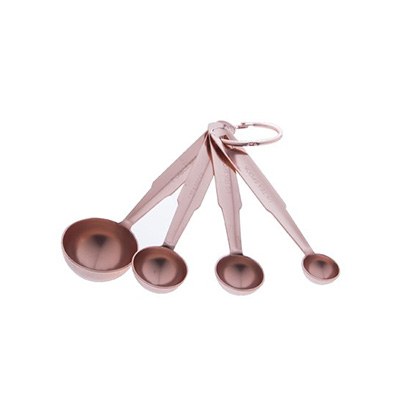 Jesse 4-Piece Copper Measuring Spoon Set