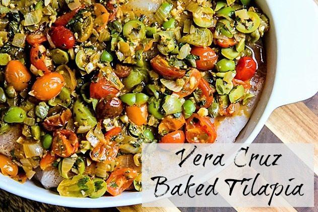 Vera Cruz-Style Tilapia Recipe