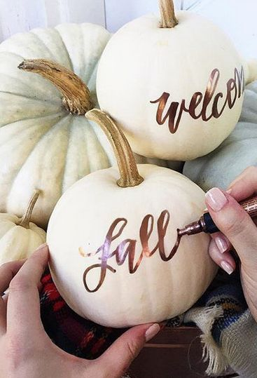 fall decorations with personal touch 2