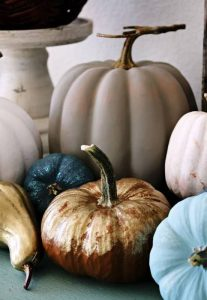 hand painted pumpkins for fall