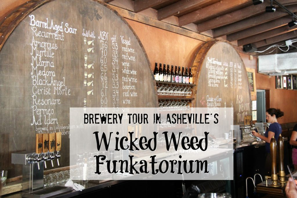 wicked weed brewery tour title pic