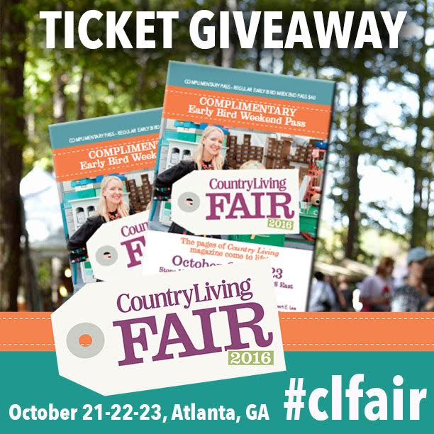 country living fair ticket giveaway 5