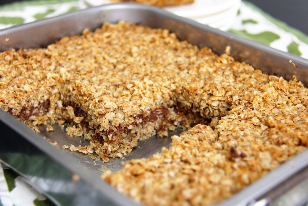 nutella oatmeal bar recipe 3