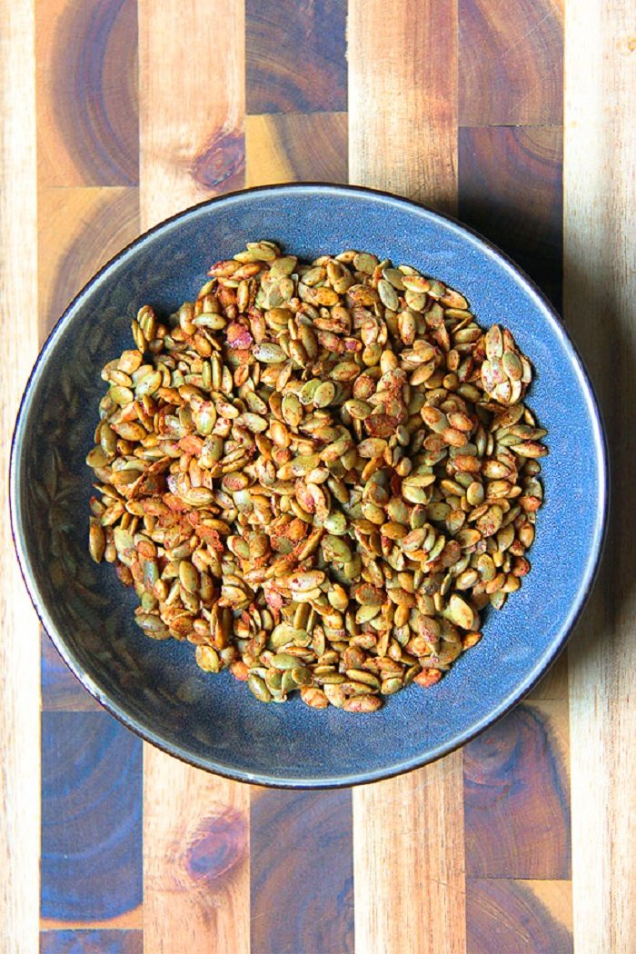 spiced pumpkin seeds 8