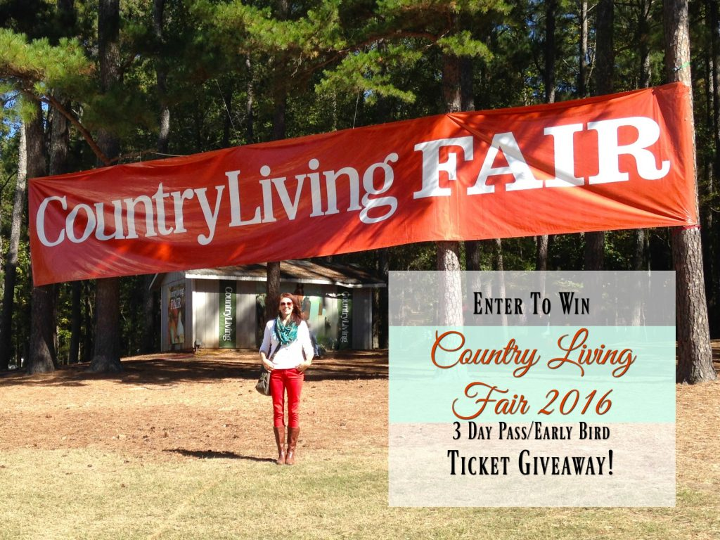 country living fair ticket giveaway 2
