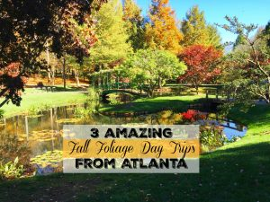 fall day trips from Atlanta cover pic