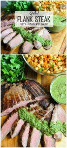 grilled flank steak for pinterest