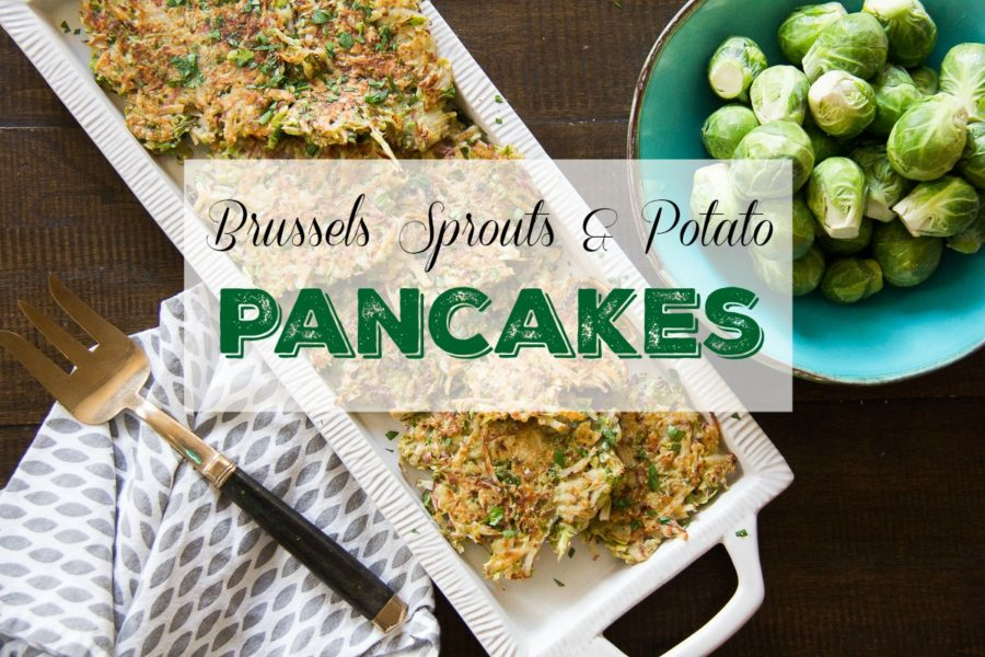 brussels sprouts potato latkes