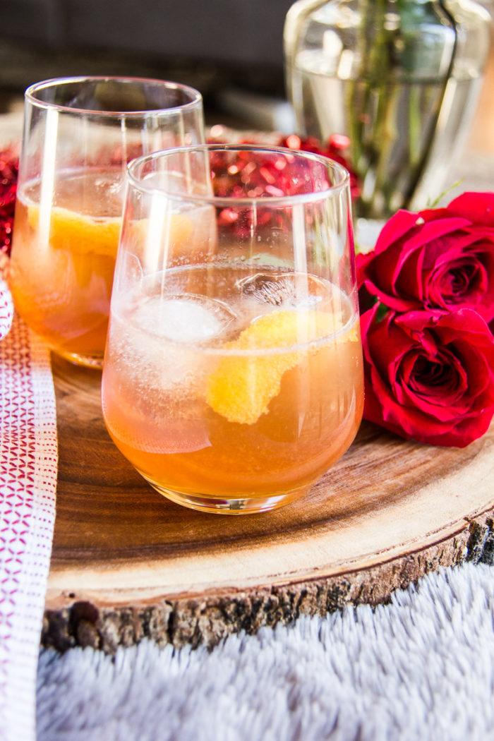Bourbon Champagne Cocktail-11