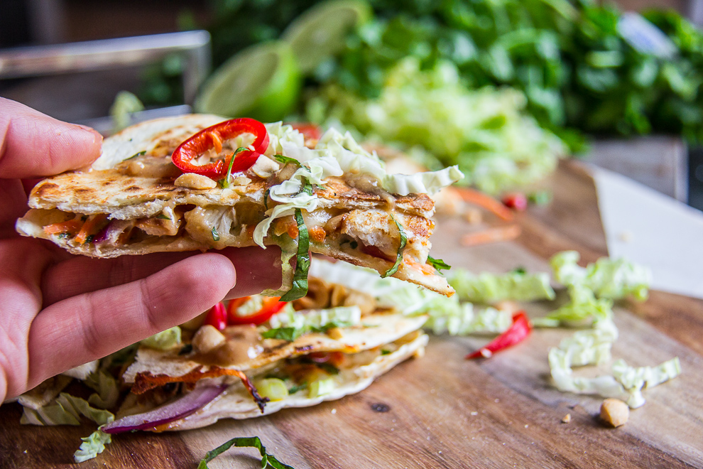 Thai Chicken Quesadillas 20