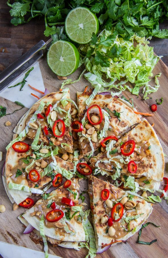 Thai Chicken Quesadillas 28