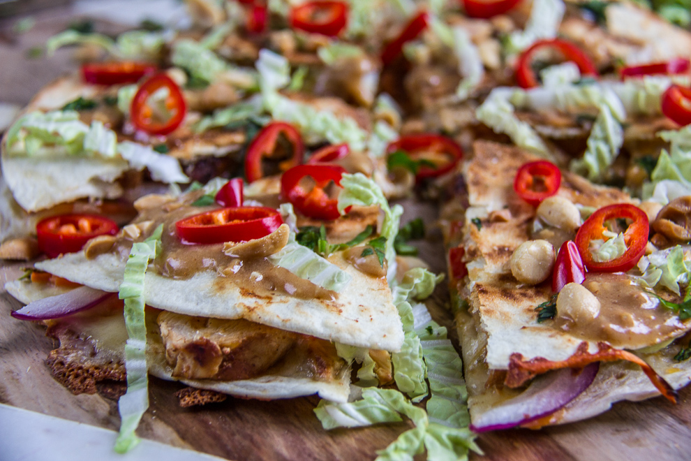 Thai Chicken Quesadillas 32