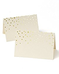 Amazon Gold Dot Placecard holder sumptuous living seasonal