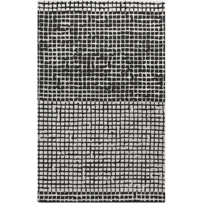 Black & White rug Sumptuous Living Home Decor