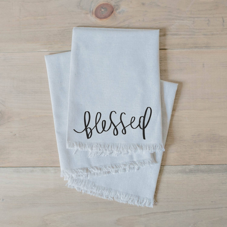 Blessed Towels Sumptuous Living Seasonal Goodies