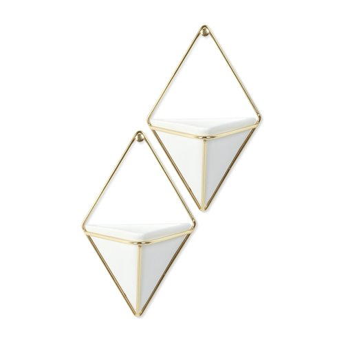 Ceramic Triangle Wall Decor Sumptuous Living Home Decor