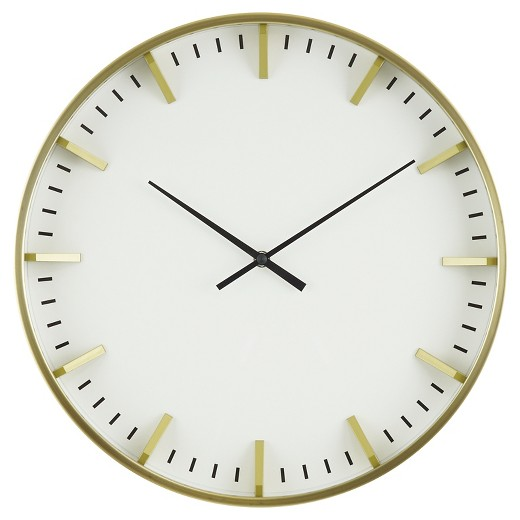 Gold Clock Sumptuous living Home decor