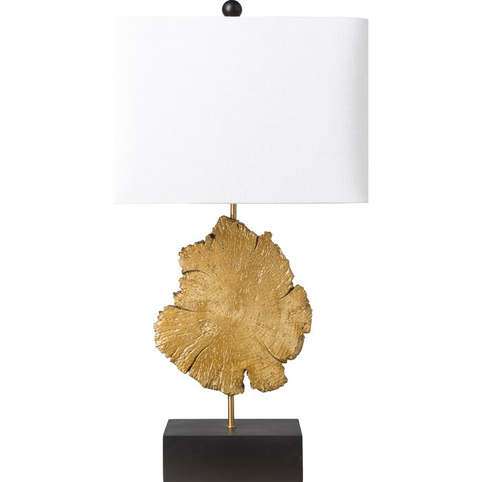 Gold and black base table lamp sumptuous living Home Decor